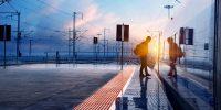 Zugreisen, Bahnreisen, Zugtickets, Fahrscheine