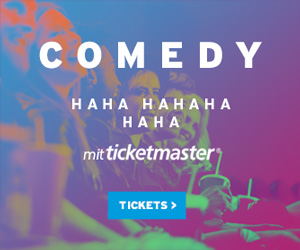 Ticketmaster Comedy Karten